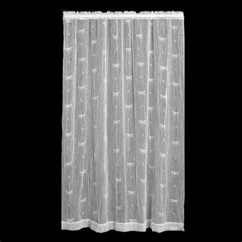 heritage lace dragonfly curtain panel modern curtains