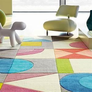 Tapis Rond Multicolore Ides De Dcoration Intrieure