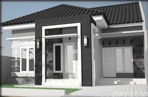 contoh gambar desain model atap rumah minimalis modern