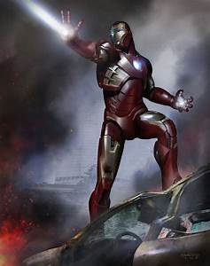 The Avengers Concept Art by Phil Saunders | Concept Art World