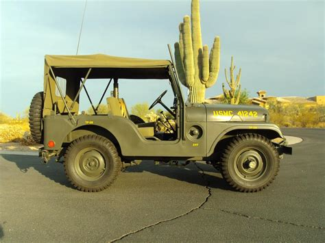 military jeep side 1953 willys military jeep 161505