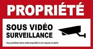 Video Surveillance Maison : les r gles respecter pour installer une cam ra de ~ Premium-room.com Idées de Décoration