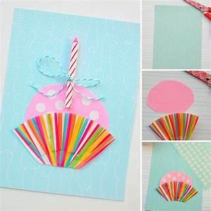 Geburtstagskarten Basteln Ideen : geburtstagskarten basteln 30 tolle ideen mit anleitung zum nachmachen ~ Watch28wear.com Haus und Dekorationen