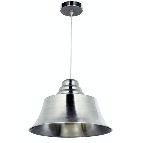 kenroy home lighting kenroy home spinnaker 1 light brushed steel pendant