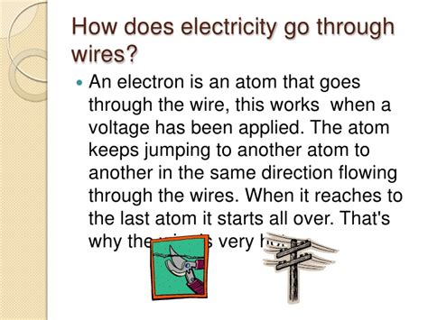 how does electricity travel through wires