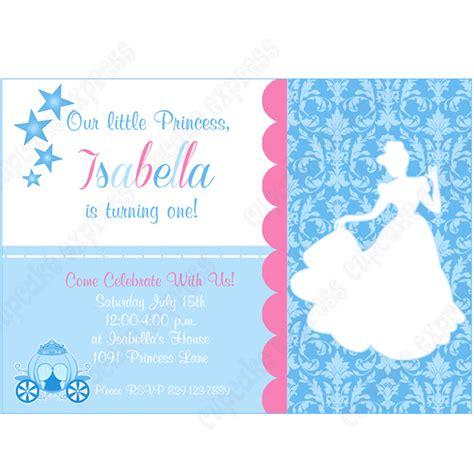 Cinderella Inspired Printable Invitation 2 Diy