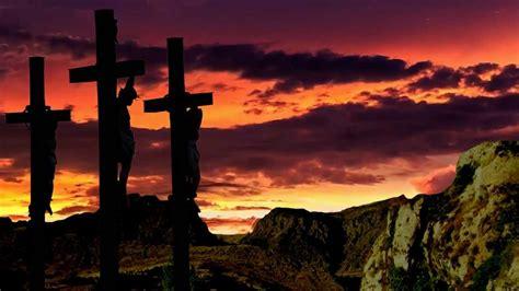 jesus crucified  christian worship background video