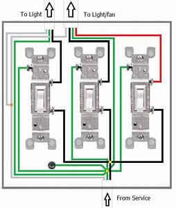 Wiring Three Switches In One Box