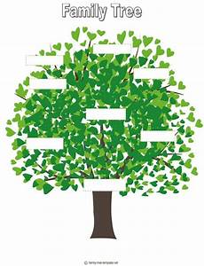 Family Tree For Kids Template | Auction project ideas ...
