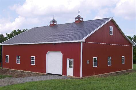40x60 pole barn oko bi pole barn building cost