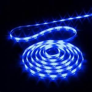 Guirlande Lumineuse Exterieur Professionnel : ruban lumineux 4 m bleu 120 led guirlande lumineuse pour sapin et maison eminza ~ Teatrodelosmanantiales.com Idées de Décoration