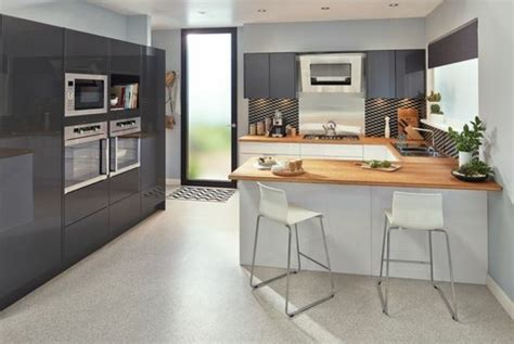 cuisine meubles gris cuisine sol gris meilleures images d 39 inspiration pour