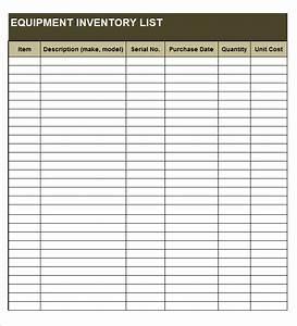 construction equipment list template gallery template With construction equipment list template