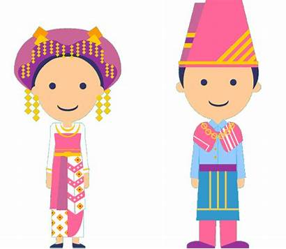Traditional Clipart Culture Clothing Indonesian Dresses Transparent
