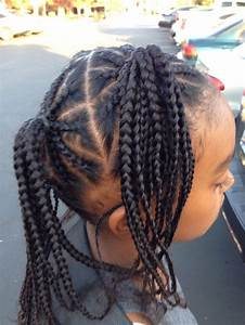 Braids all over side view | Hairstyles/braids for kids and ...