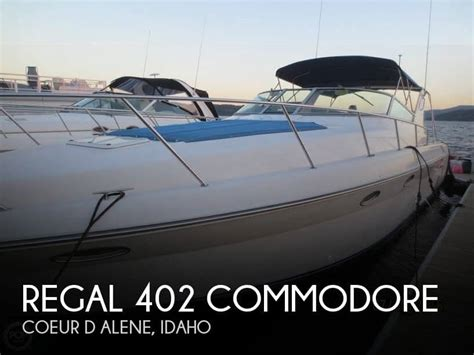 used 1996 regal 402 commodore for sale in coeur d alene