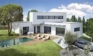 maison design With good modele de maison en l 7 de maison neuve moderne construction
