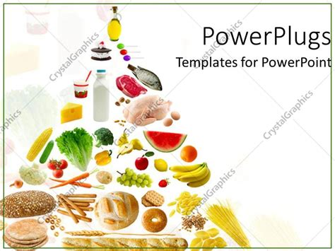 powerpoint template healthy eatables