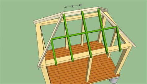 rectangular gazebo plans howtospecialist   build step  step diy plans