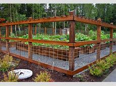 Hog Panel Fencing For Garden Design & Ideas Hog Panel
