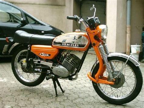 moped 50ccm oldtimer pin andreas nagel auf herkules hercules motorrad kleinkraftrad und motorrad