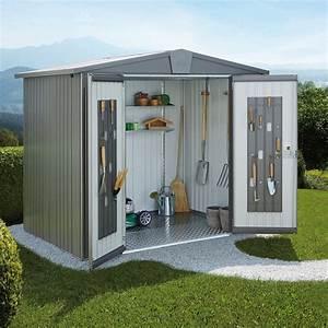 Abris De Jardin Auvergne : abri de jardin m tal 4 92 m ep 0 53 mm europa 4a biohort ~ Premium-room.com Idées de Décoration