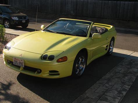 mitsubishi 3000gt yellow for sale 8 21 10