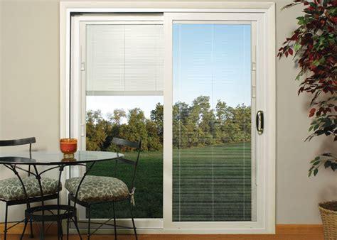 photo of blinds for patio doors patio doors w mini blinds