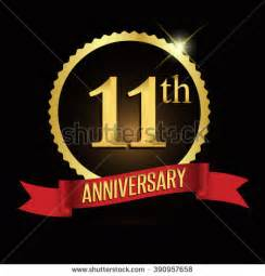 11 year wedding anniversary 11th anniversary stock images royalty free images vectors