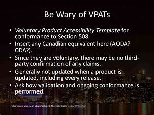 implementing accessibility accessibility toronto With voluntary product accessibility template section 508