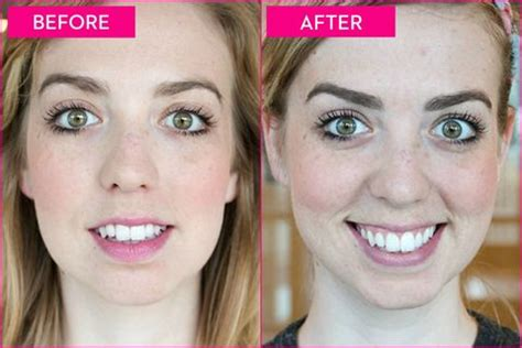 eyebrow makeovers    proof  brows