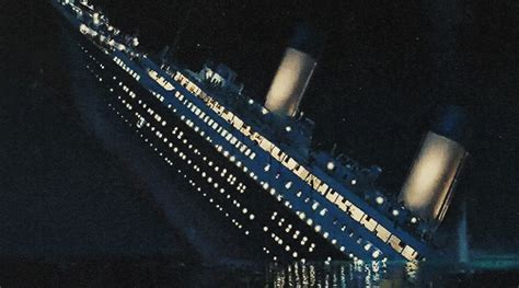 titanic sinking gif gif find on giphy