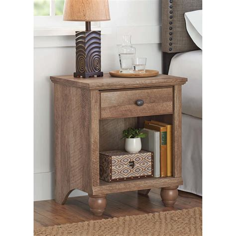 crossmill end table weathered finishes better homes and