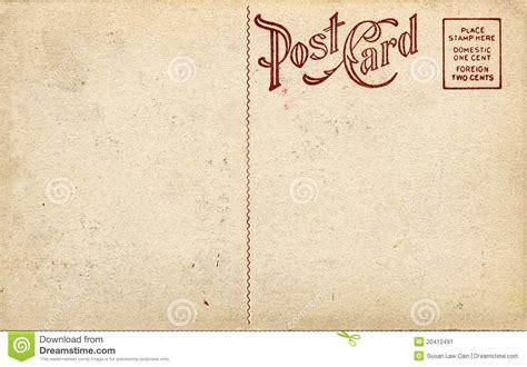 Vintage Postcard Template Photoshop Wallpaper Fashioned Postcard Stock Image Image 20412491