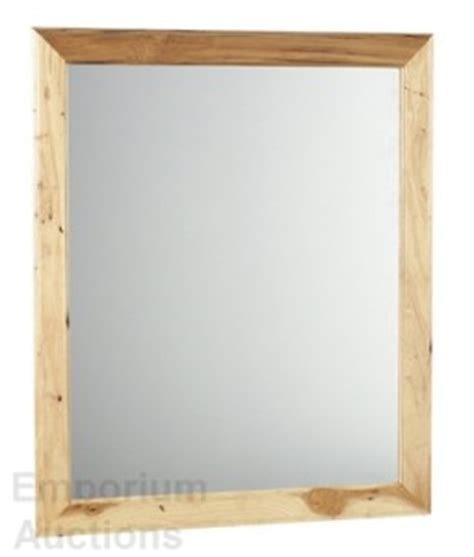 Maple Bathroom Mirror by Hickory Vanity Mirror Bathroom Wood Wall Maple Ebay