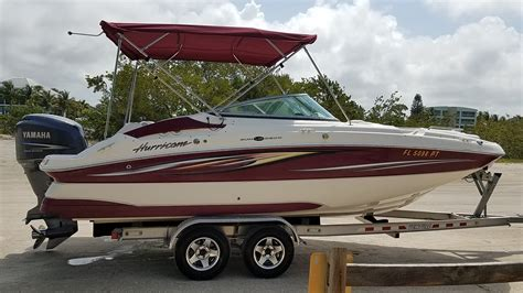 Hurricane Boats For Sale by Used Hurricane Boats For Sale 4 Boats