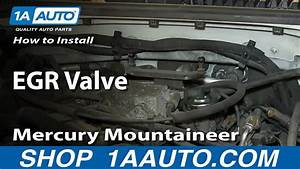 How To Install Replace Egr Valve 4 6l 2001-03 Ford Explorer Mercury Mountaineer