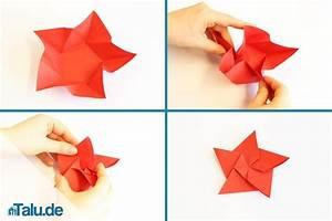 Origami Für Anfänger : origami stern falten stern aus papier basteln ~ A.2002-acura-tl-radio.info Haus und Dekorationen