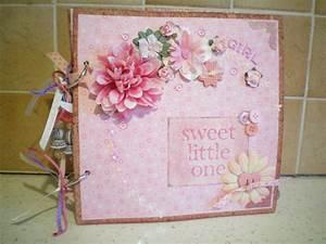 Album Photo Naissance Fille : mini album shabby naissance fille et canvas l 39 atelier de flocon ~ Dallasstarsshop.com Idées de Décoration