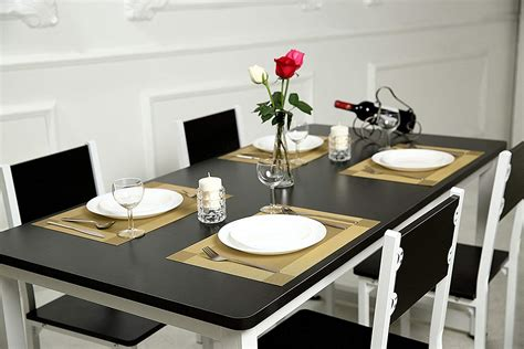 Dining Table Place Mats - sicohome placemats pvc placemats for dining table heat