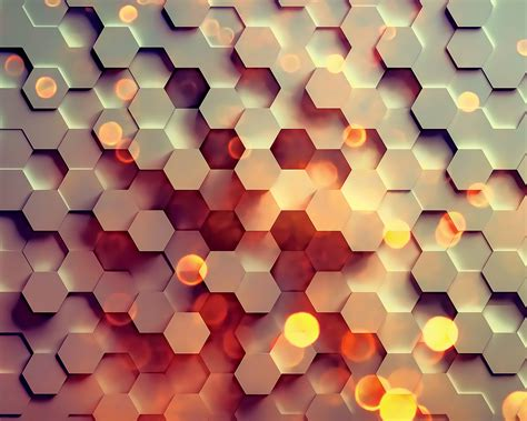 vy honey hexagon digital abstract pattern background