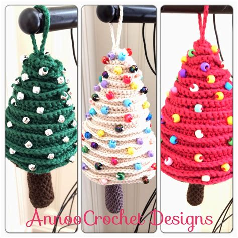 free free christmas tree ornaments crochet patterns