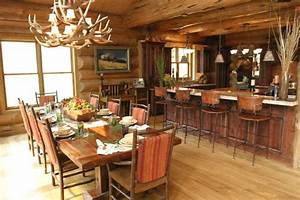 Mill Canyon Lodge - Tour of Homes - Rustic - Dining Room