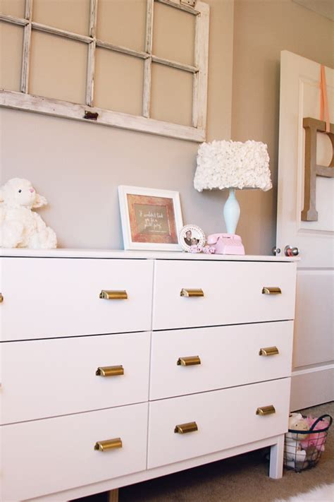 gold dresser handles white ikea dresser hacks and transformations