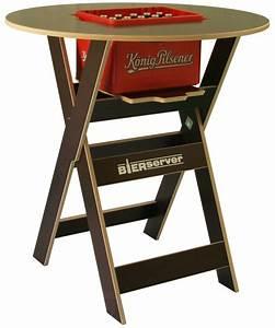 Barhocker Klappbar Holz : stehtisch bierserver partytisch mit bierkasten fach ~ Michelbontemps.com Haus und Dekorationen