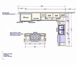 Kitchen Floor Plans Casual Cottage