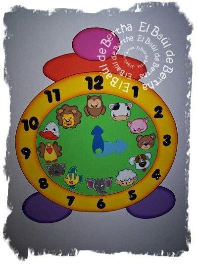 reloj de fomix como hacer un reloj de fomix mis cositas en goma
