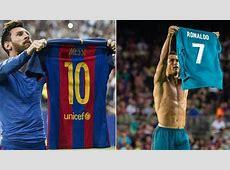 Cristiano Ronaldo mocked Lionel Messi's shirt celebration
