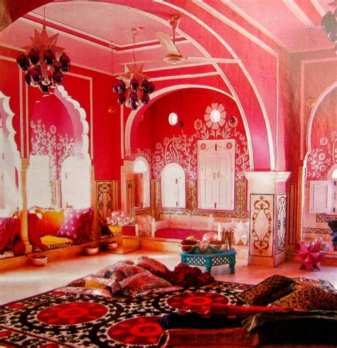 indian deco colorful decor of india