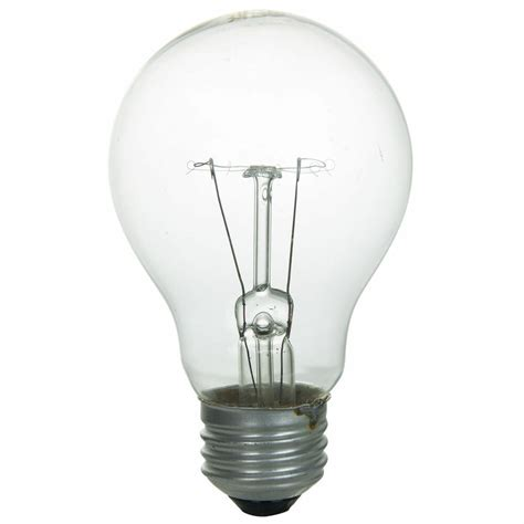 Incandescent Lighting by Sunlite Incandescent 40 Watt A19 Household 350 Lumens